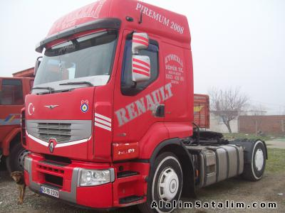 Kamyon renault premium 440 19 4x2 2008 reno 440 demir